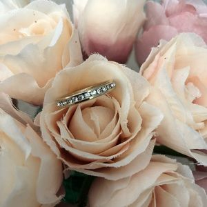 Jewelry - Faux Diamond and Gold Ring